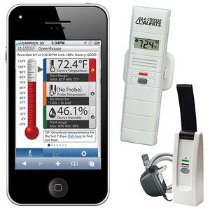 La Crosse Alerts Remote Temperature and Humidity Monitoring System