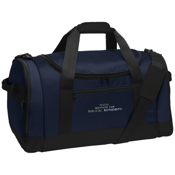 Limited Edition Embroidery IBA Port Authority Travel Bag