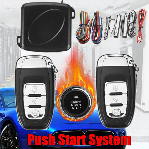 Keyless Entry Engine Start System