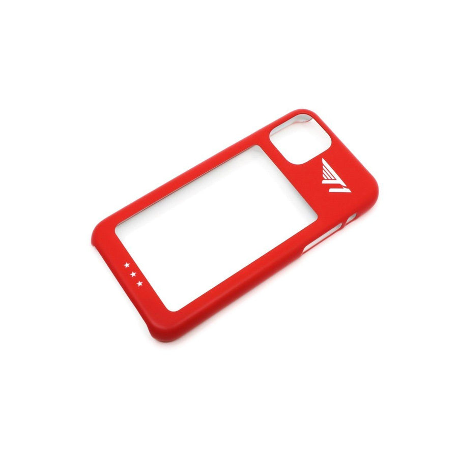 T1 iPhone 11 Card Case - Red