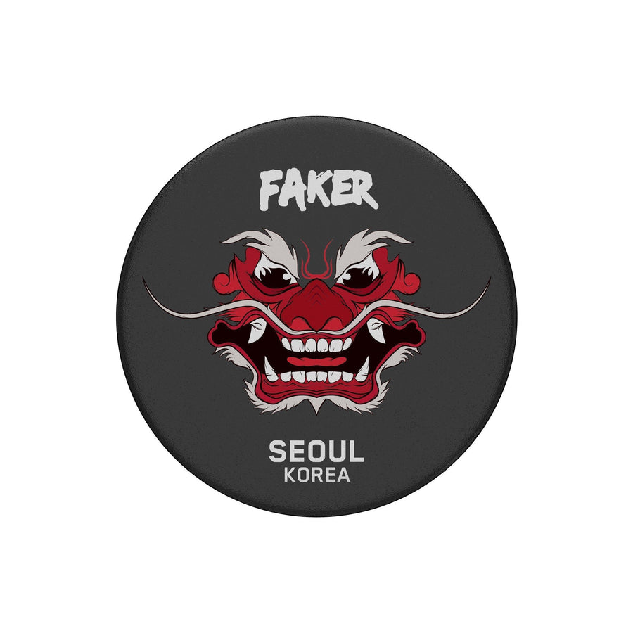 T1 X PopSockets - Faker Demon King Edition