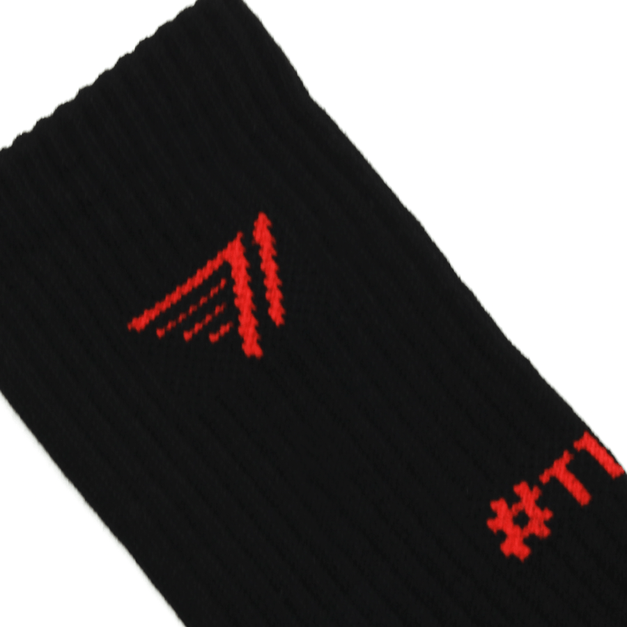 T1 Socks_Black/Red
