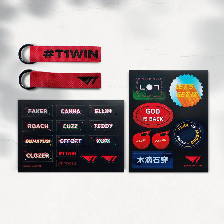 T1 YouTube Membership Welcome Package