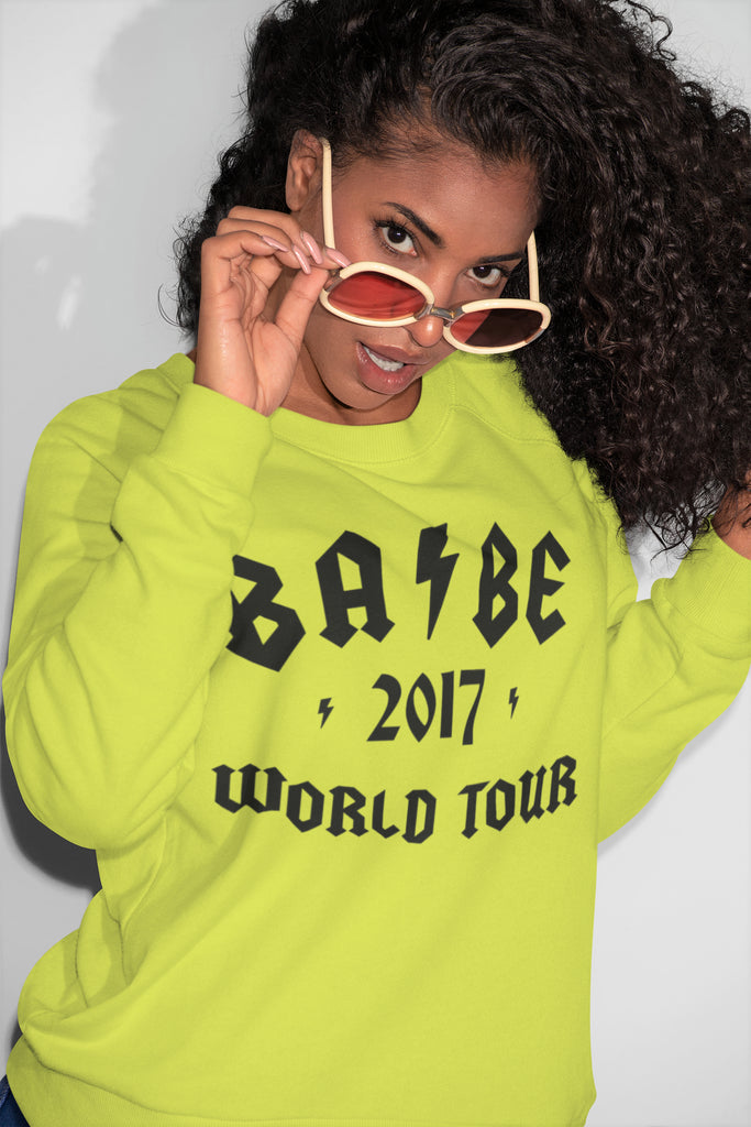 All Products - BABE WORLD TOUR Crewneck