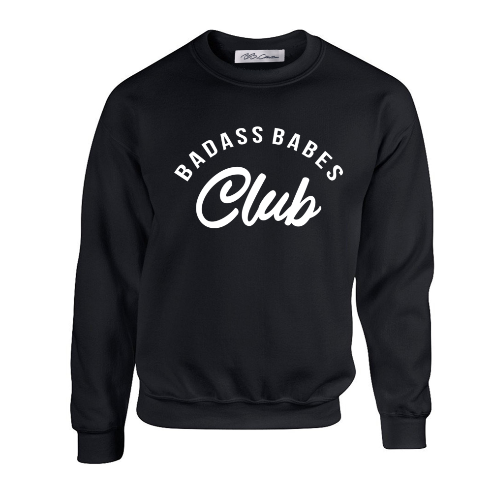 All Products - BADASS BABES CLUB Crewneck