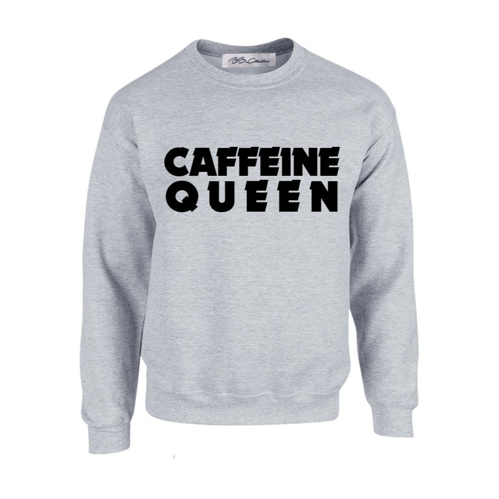 All Products - CAFFEINE QUEEN Crewneck