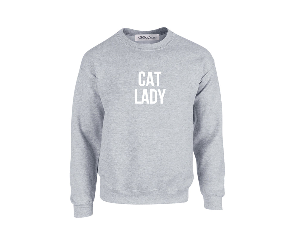 All Products - CAT LADY Crewneck