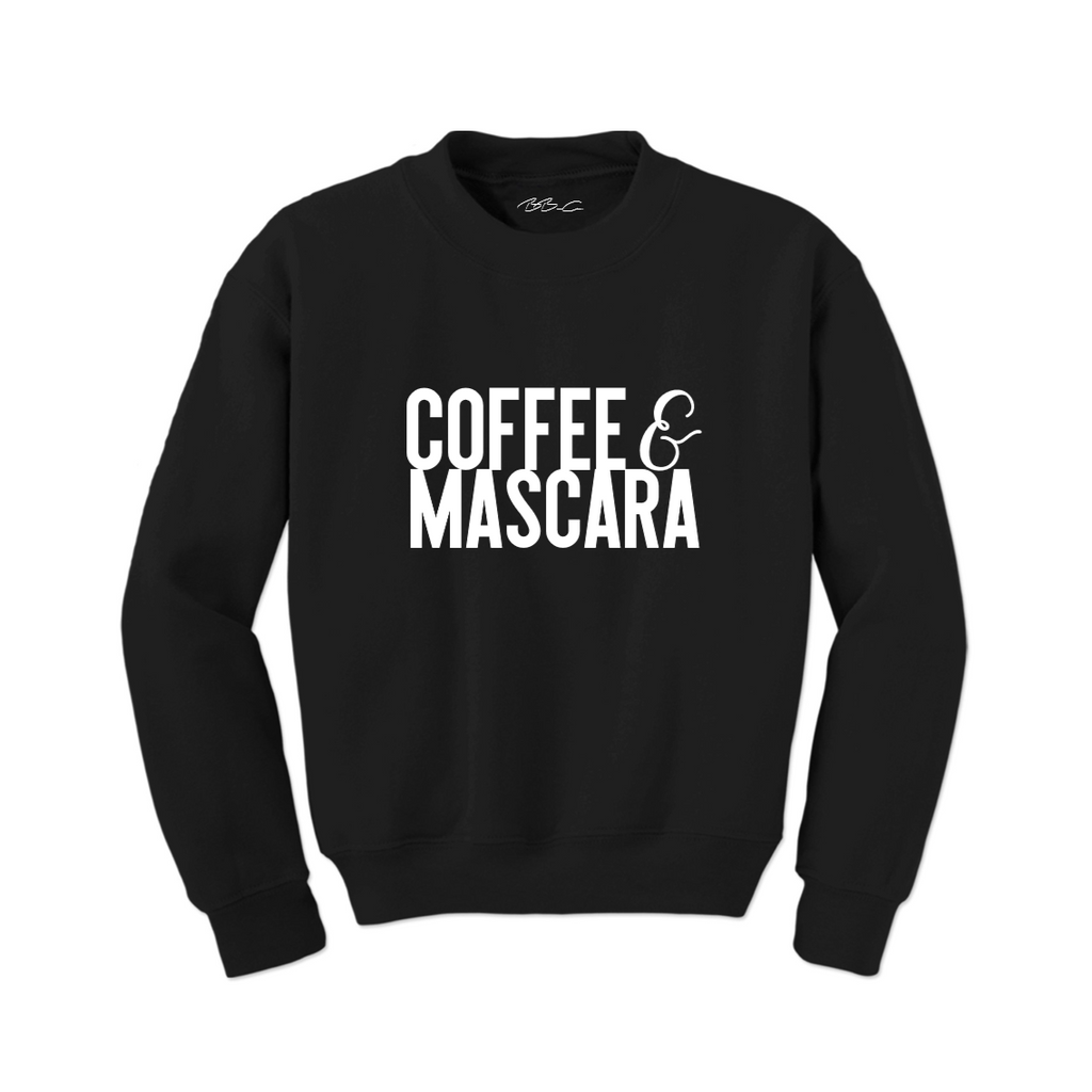 All Products - COFFEE AND MASCARA Crewneck Sweater