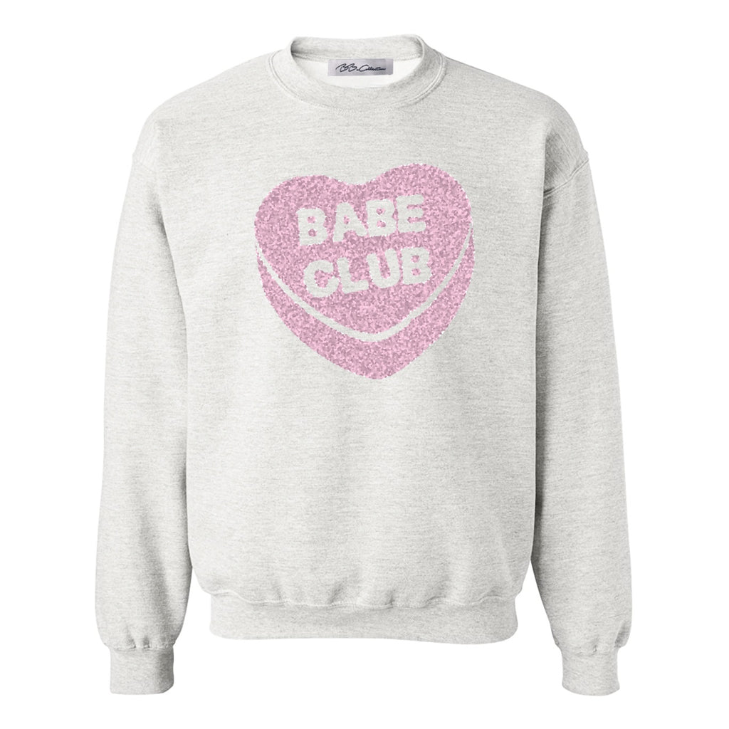 All Products - CONVERSATION HEART Crewneck Sweatshirt