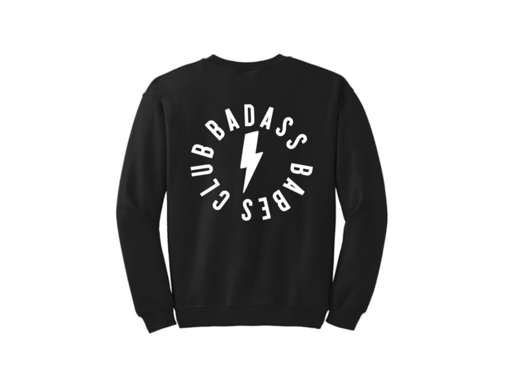 All Products - ELECTRIC BADASS Crewneck