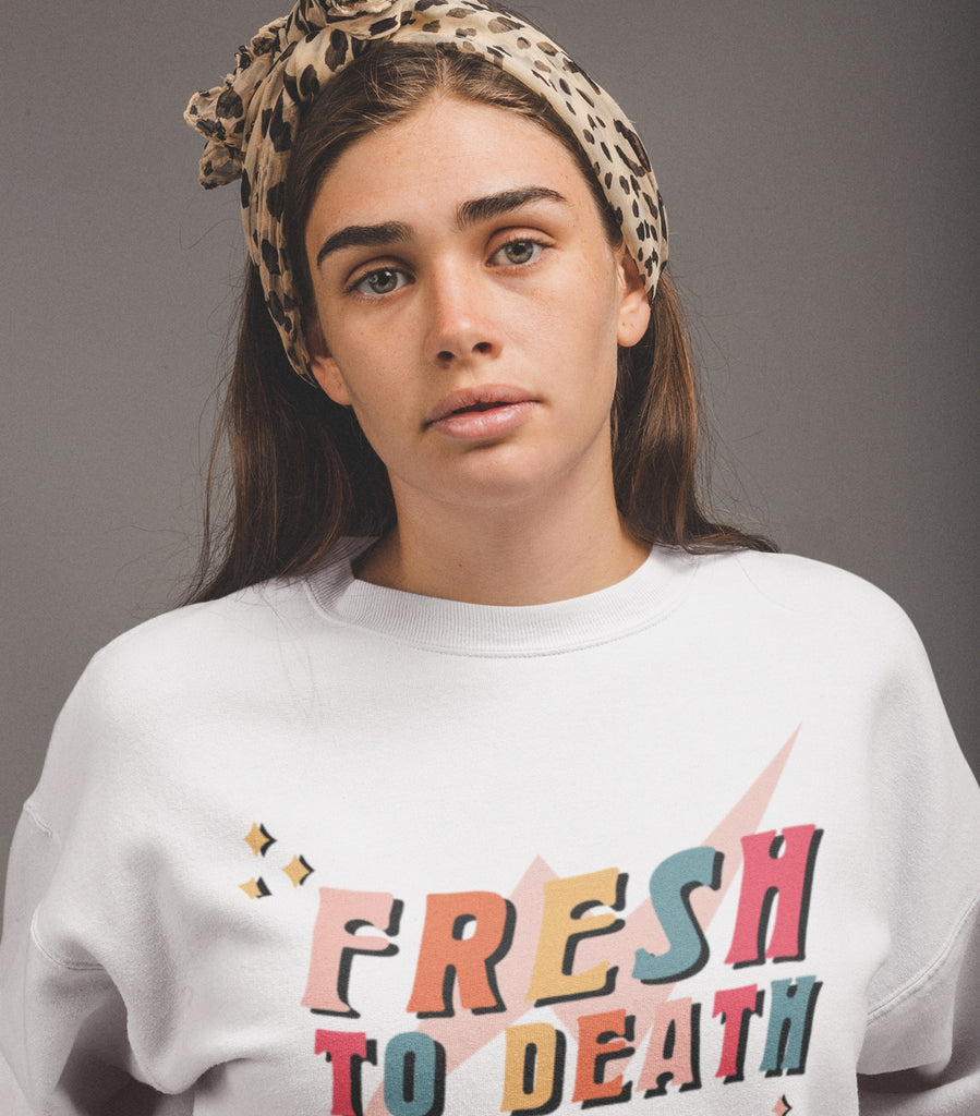 All Products - FRESH TO DEATH Remastered Crewneck
