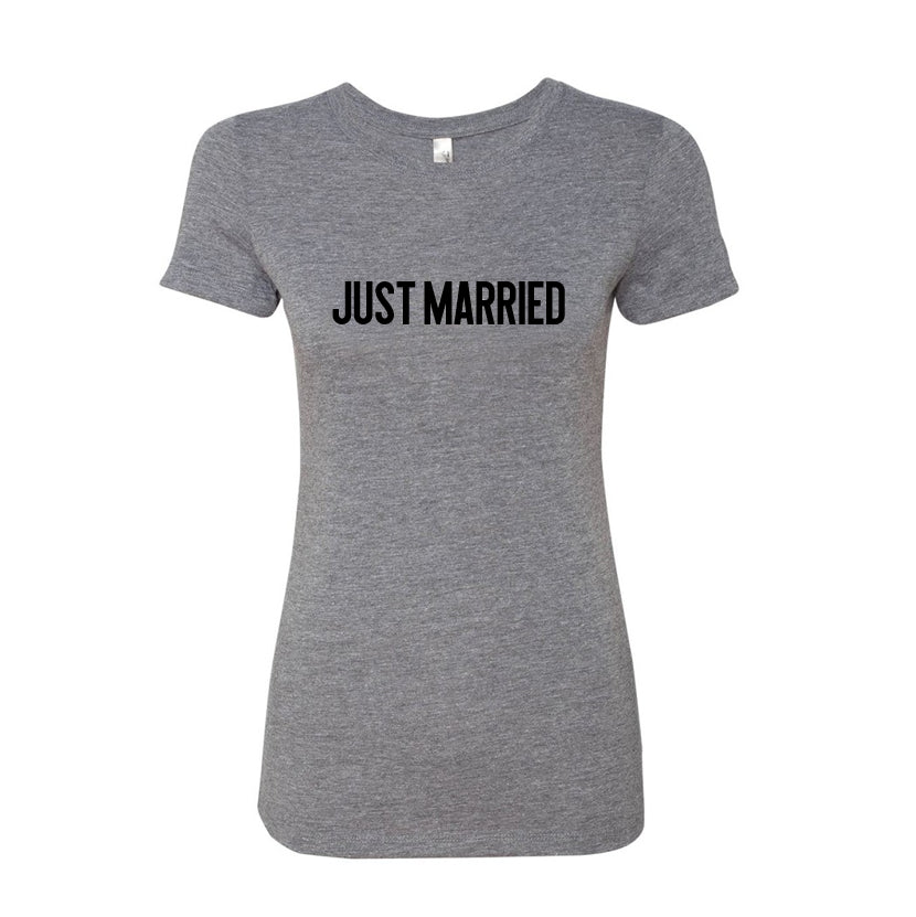 All Products - JUST MARRIED Tee