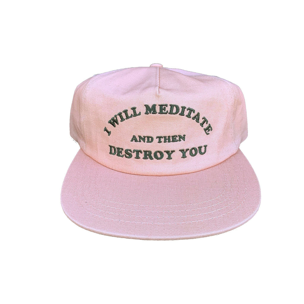 All Products - MEDITATE & DESTROY Hat