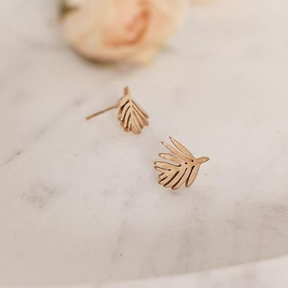 All Products - PALM LEAF Earrings
