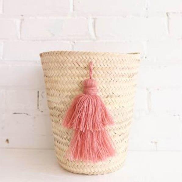 All Products - POMPOM TASSEL Basket