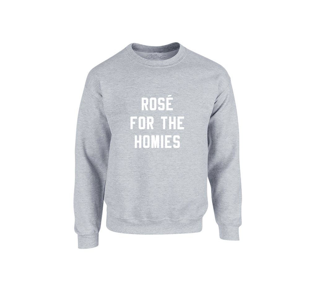 All Products - ROSÉ FOR THE HOMIES Sweater