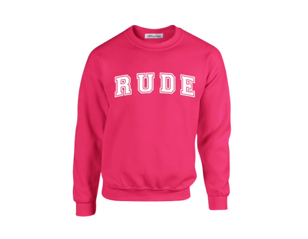 All Products - RUDE Crewneck