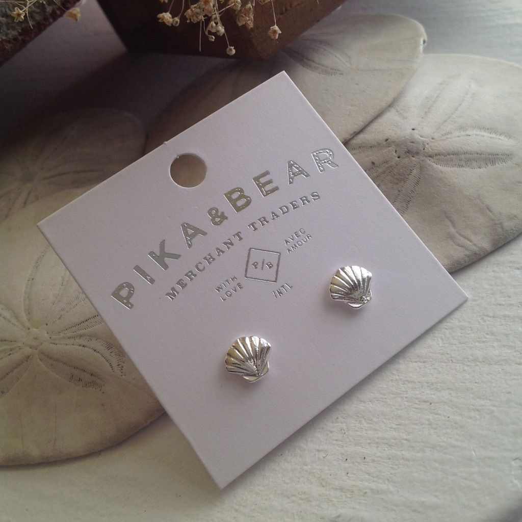 All Products - SEASHELL - P&B Earrings