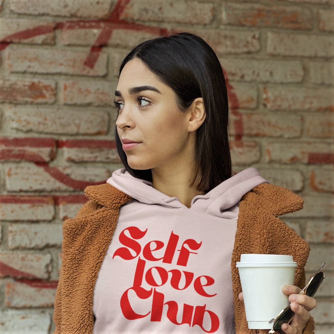 All Products - SELF LOVE CLUB Hooded Sweatshirt