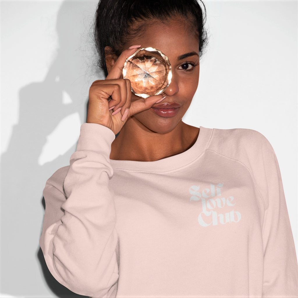 All Products - SELF LOVE CLUB Lightweight Terry Raglan Crewneck