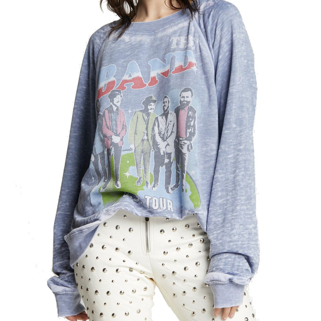 All Products - THE BAND U.S TOUR Oversized Sweatshirt