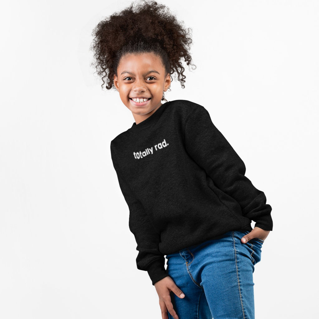 All Products - TOTALLY RAD. Youth Crewneck Sweater