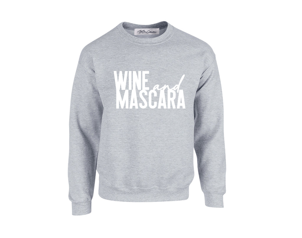 All Products - WINE & MASCARA Crewneck