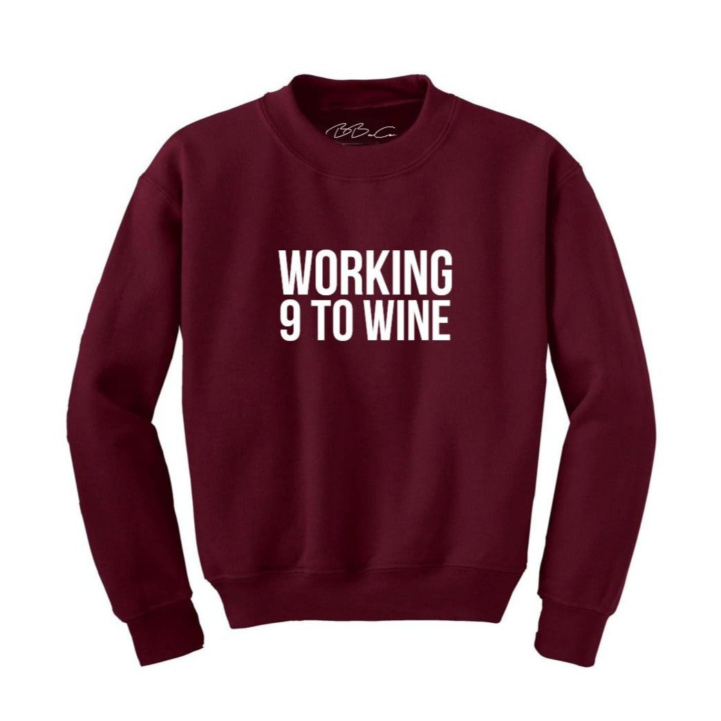All Products - WORKING 9 TO WINE Sweater