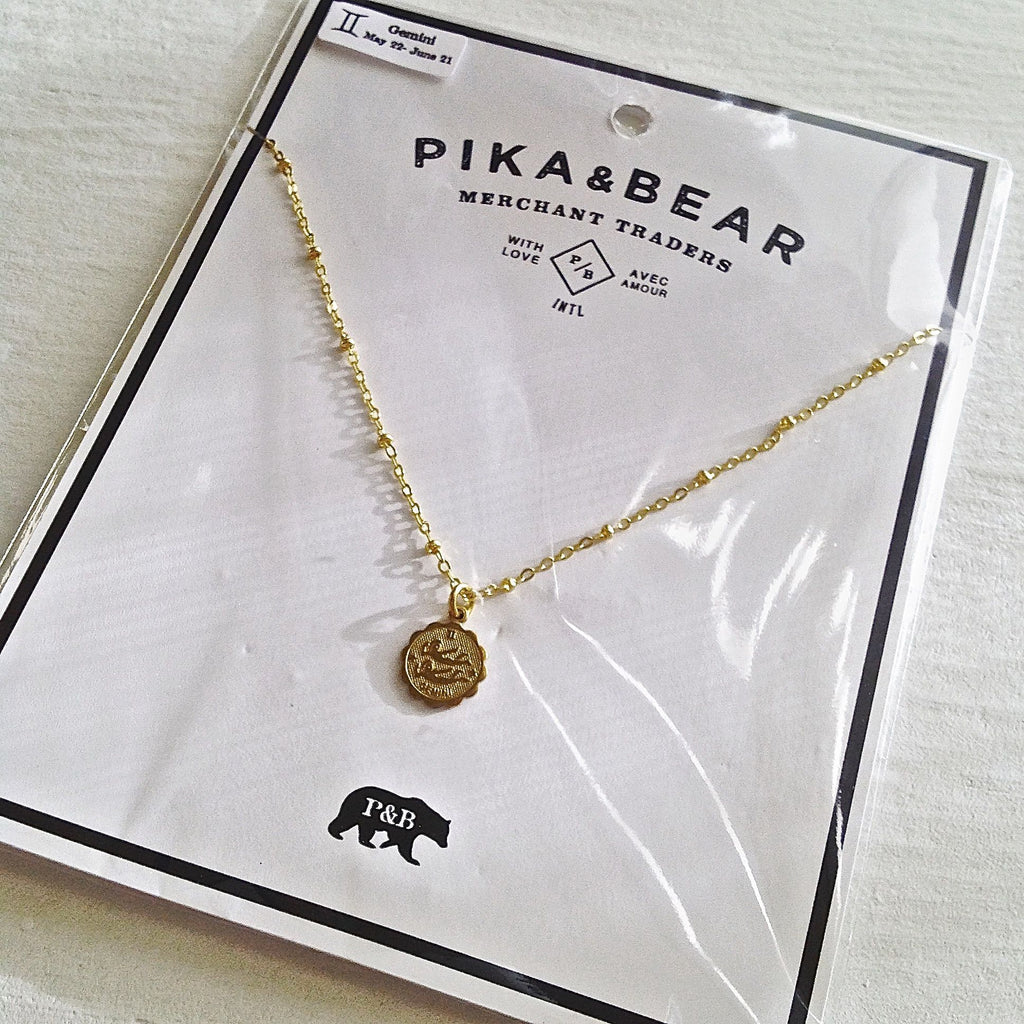 All Products - ZODIAC - P&B Necklace