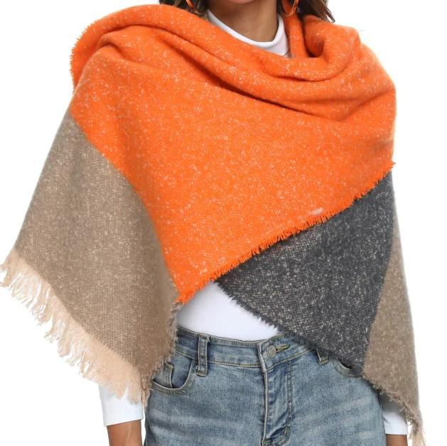 AMY Oversized Fall Scarf