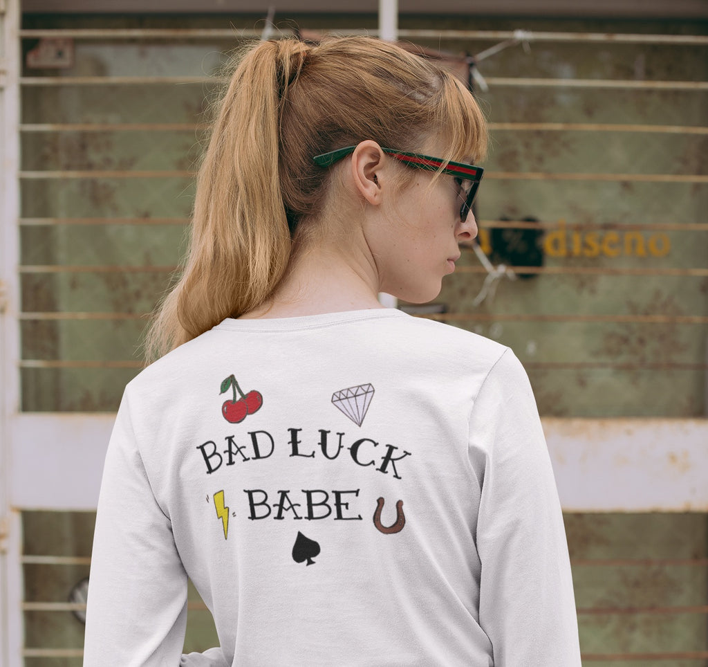BAD LUCK BABE Long Sleeve Tee