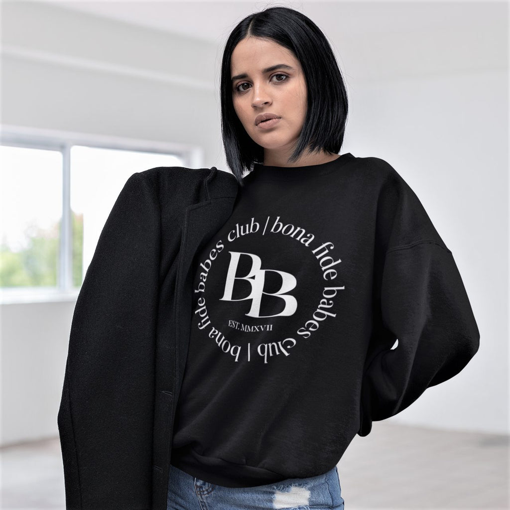 BONA FIDE BABES CLUB Crewneck Sweater