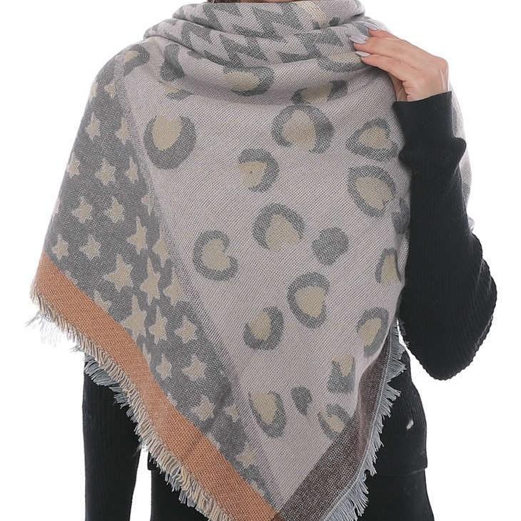 ELIZABETH Oversized Fall Scarf