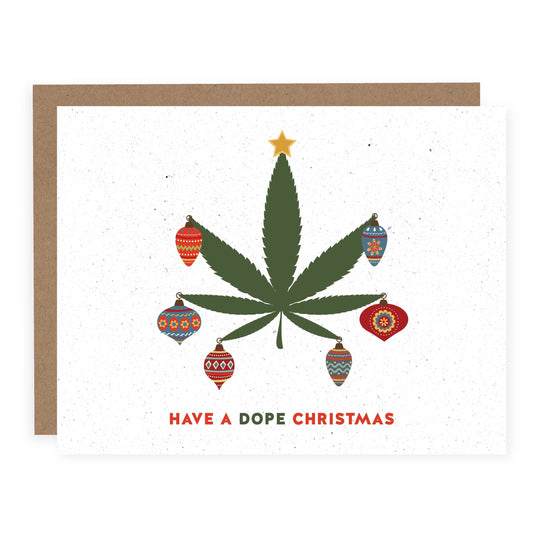 HAVE A DOPE CHRISTMAS Holiday Card