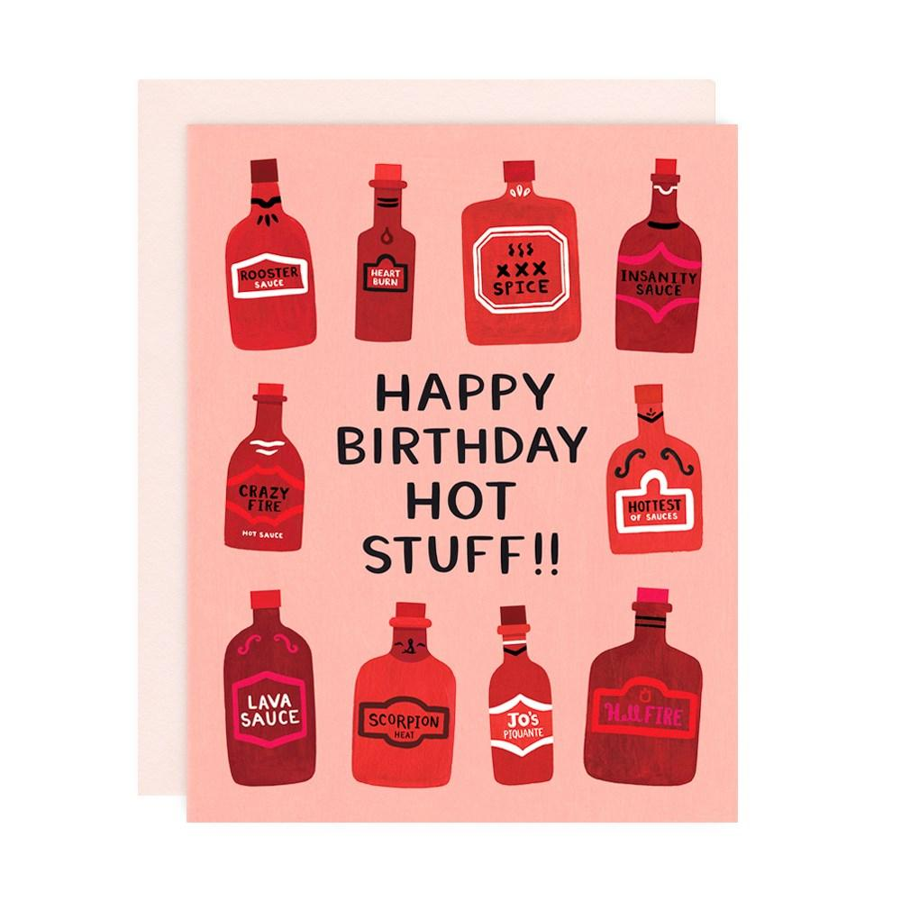 HOT STUFF BIRTHDAY Card