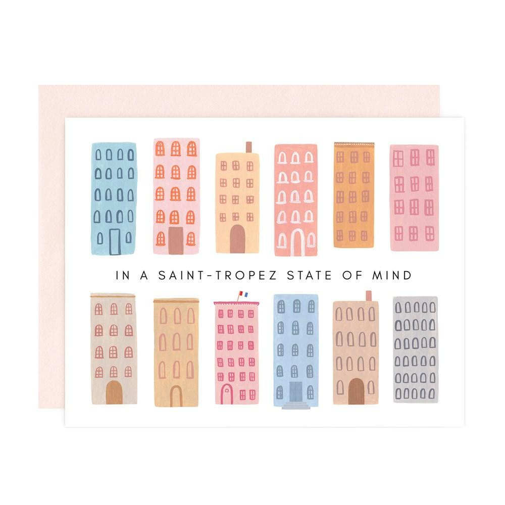 IN A SAINT-TROPEZ STATE OF MIND Card