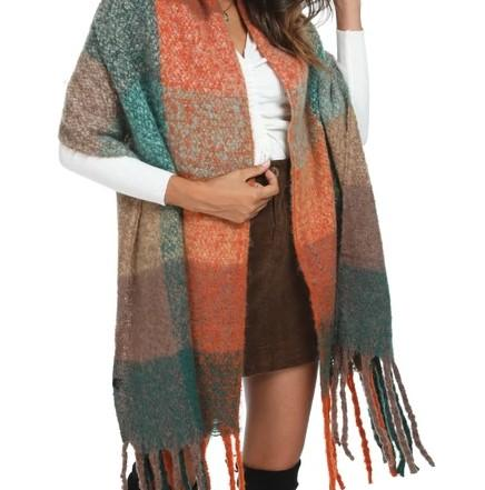 INGRID Oversized Fall Scarf