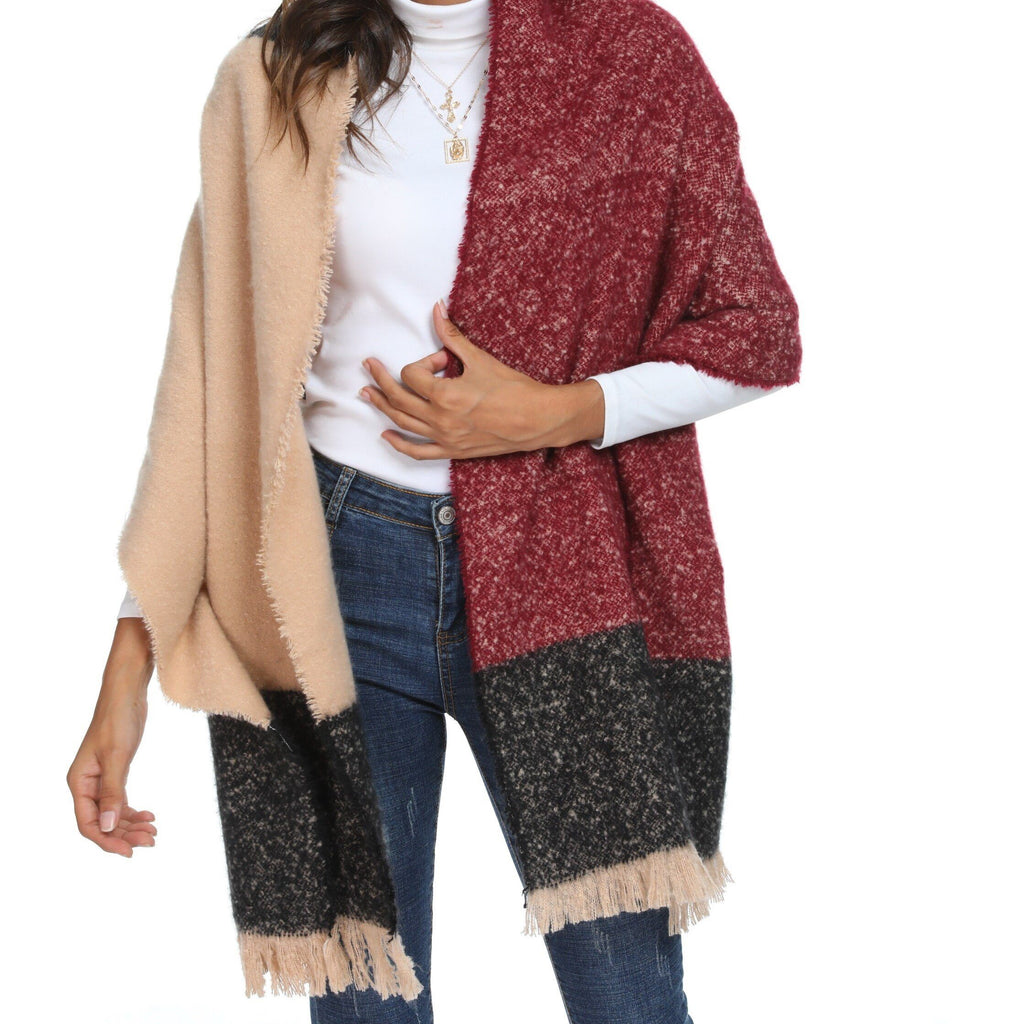 JADE Oversized Fall Scarf