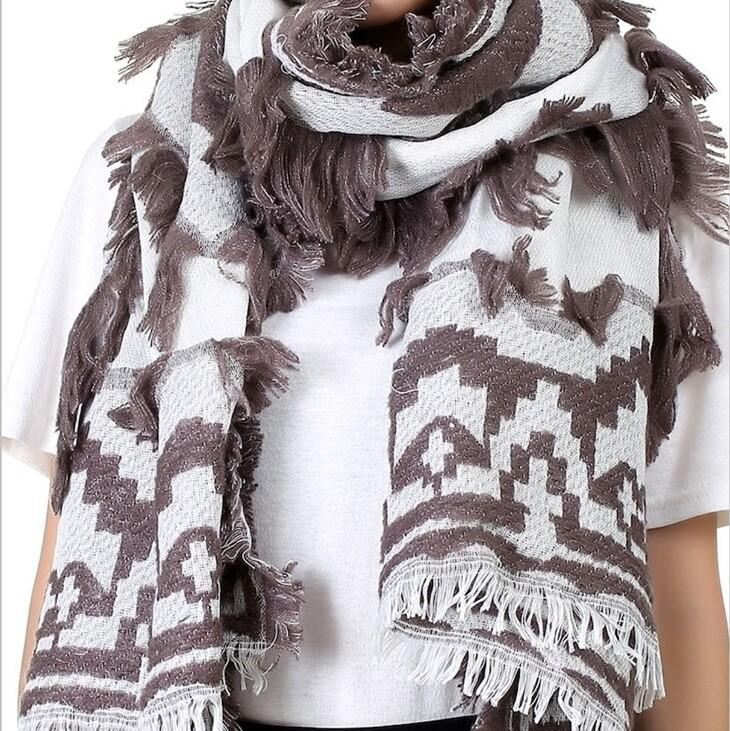 JENNA Oversized Fall Scarf