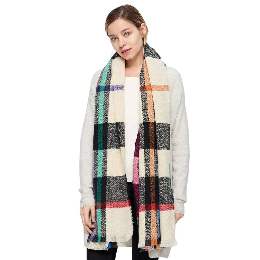 JENNY Oversized Fall Scarf
