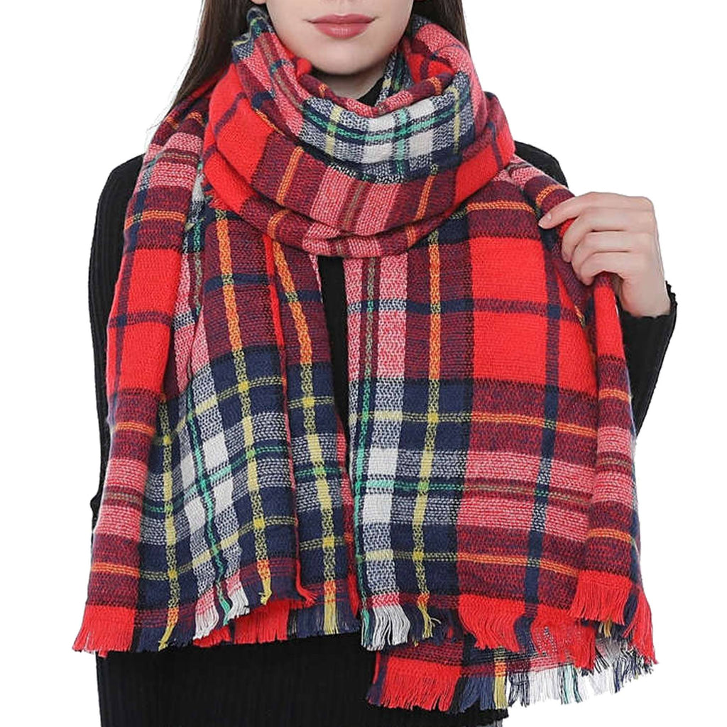 KELLY HOLIDAY Oversized Fall Scarf