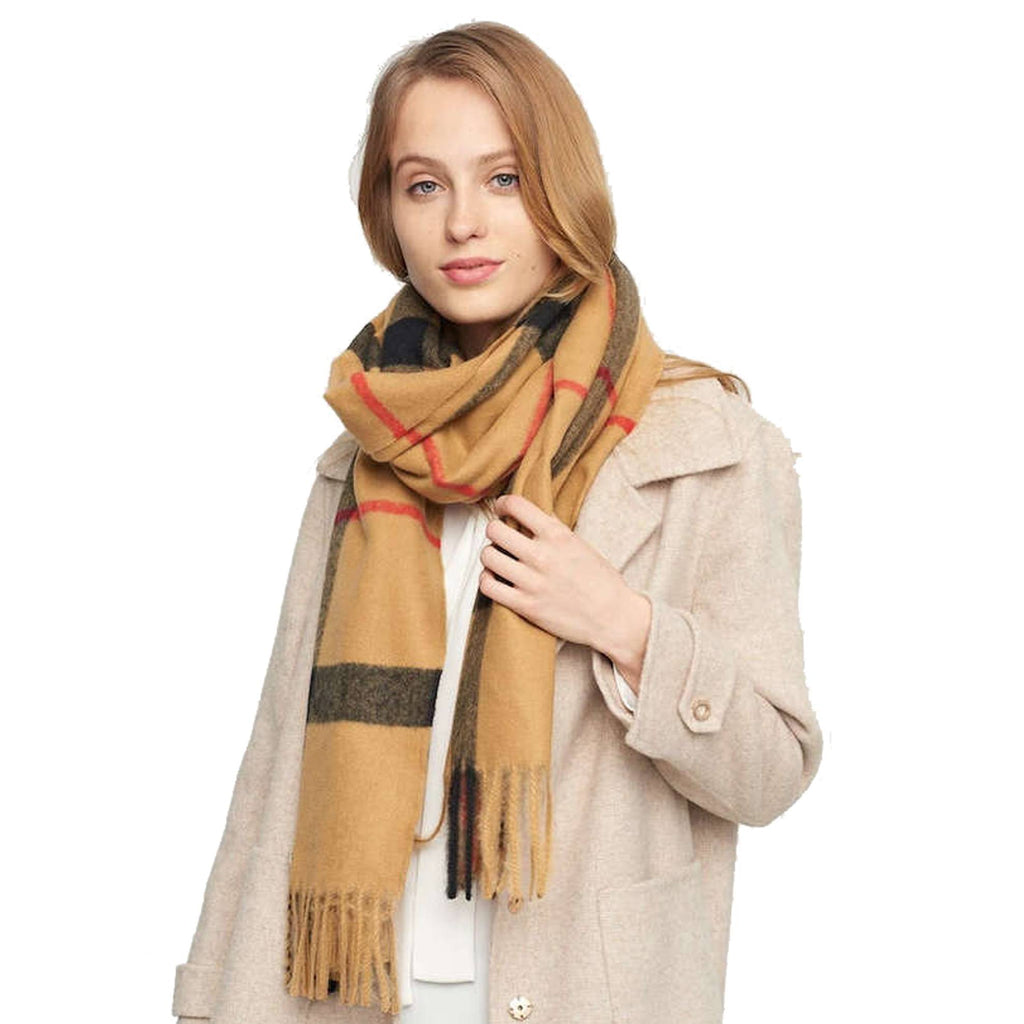 MEGAN Oversized Fall Scarf