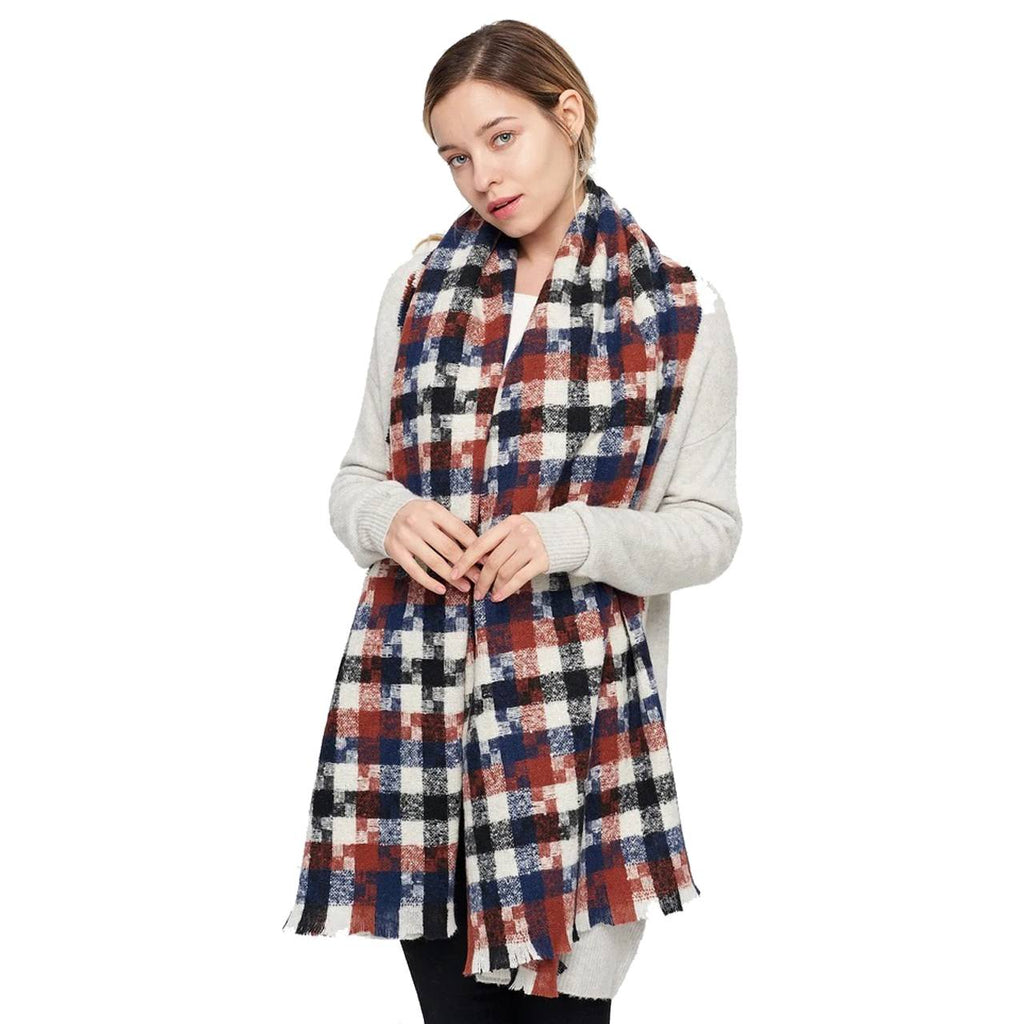 MILAINE Oversized Fall Scarf