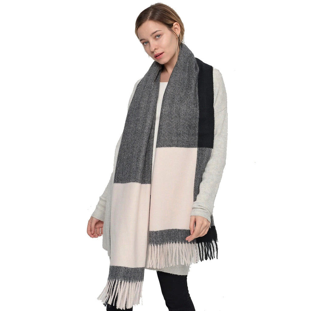 NATASHA Oversized Fall Scarf