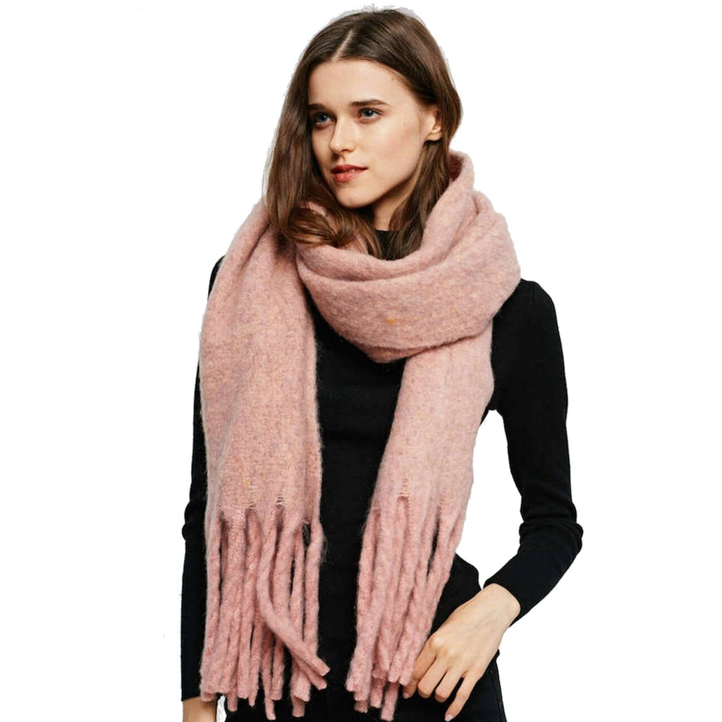 NAYELI COTTON CANDY Oversized Fall Scarf