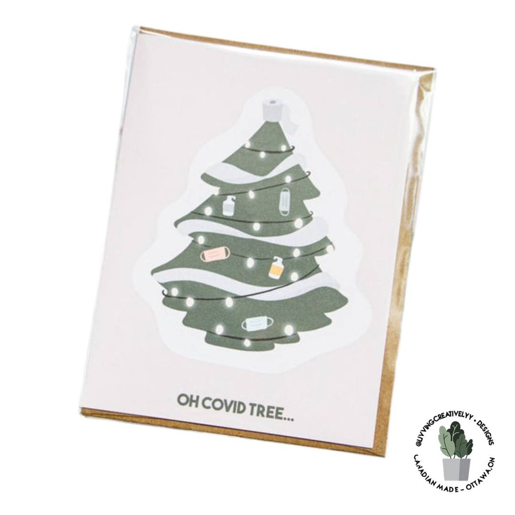 OH COVID TREE Holiday Card