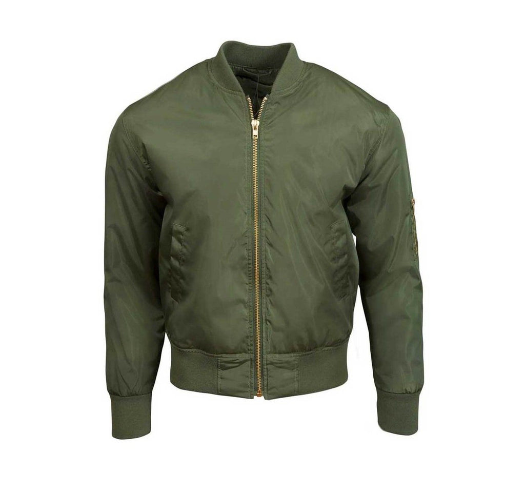 OLIVE YOU Bomber Jacket