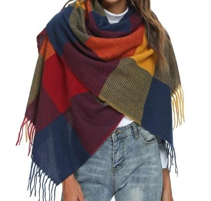 RACHEL Oversized Fall Scarf