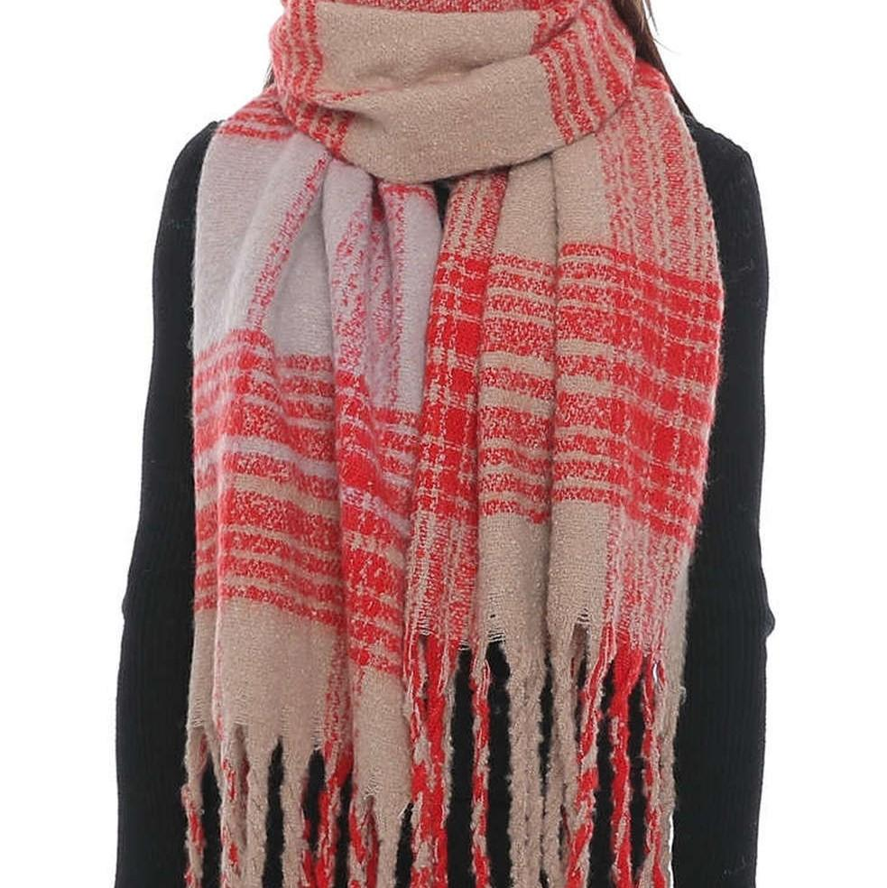 SARA Oversized Fall Scarf