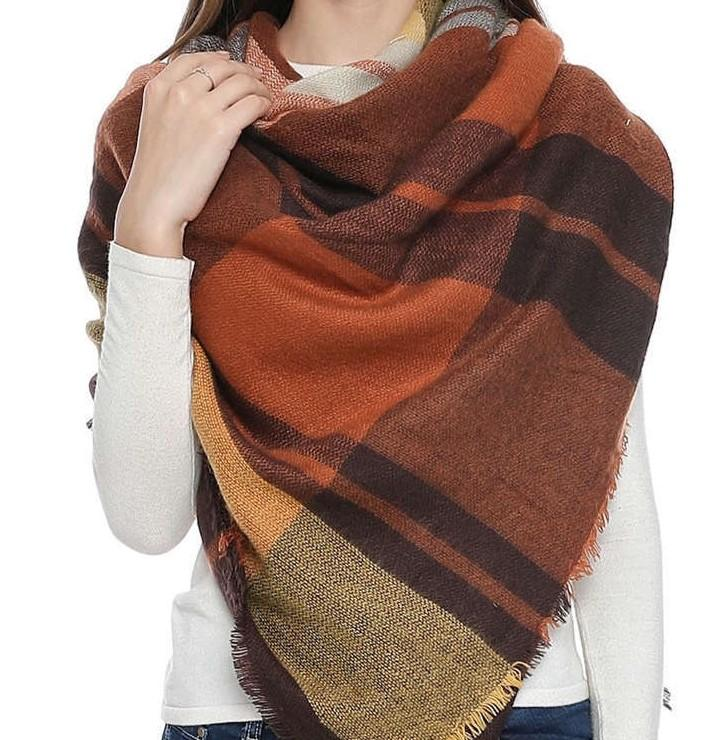TIRA Oversized Fall Scarf